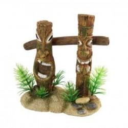 Ornamento columnas Tiki (13...